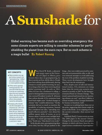 Scientific American - November 2008