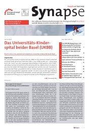 Synapse Ausgabe 4 - Juni 2005 - synapse-online.ch