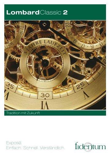 LombardClassic 2 Exposé - FONDS InvestBeratung - Petersen ...