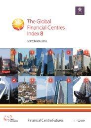Global Financial Centres Index (GFCI 8) - Z/Yen