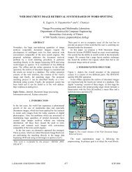 Web Document Image Retrieval System Based on Word Spotting
