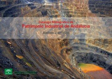 bibliografia_patrimonio_industrial - IAPH. Instituto Andaluz del ...