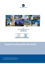 Rapporto qualità EOC 2011 - Spitalinformation.ch
