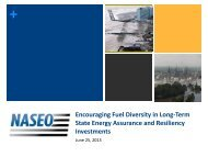 Encouraging Fuel Diversity in Long-Term State Energy Assurance ...