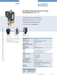 3/2-Wege-Magnetventil für hohe Temperaturen, G 1/4
