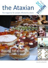 Issue 181 spring 2013 - Ataxia UK