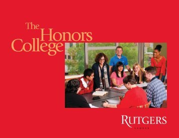 Honors College - Rutgers University-Camden - Rutgers, The State ...