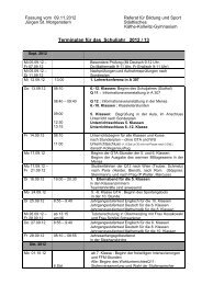 Terminplan für das Schuljahr 2012 / 13 - Käthe-Kollwitz-Gymnasium ...