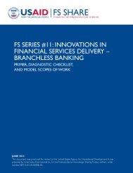 FS SERIES #11 - Economic Growth - usaid