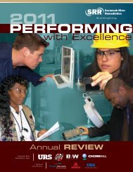 2011 SRR Annual Review - Savannah River Remediation LLC