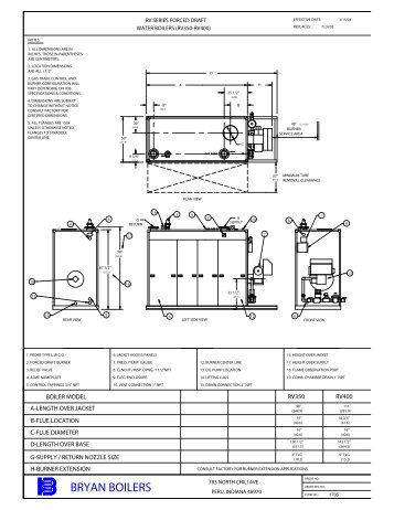 form 2018 water boiler start up and operation bryan boilers rh yumpu com bryan boiler installation manual Oil Furnace Wiring Diagram