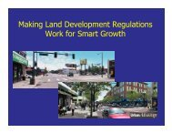 Making Land Development Regulations Work for ... - Land Use Law