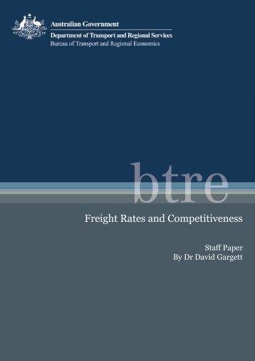 PDF: 1440 KB - Bureau of Infrastructure, Transport and Regional ...