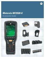Motorola MC9500-K Accessories Guide - Motorola Solutions