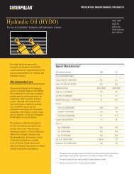 Hydraulic Oil - PEHP9544 - Toromont CAT