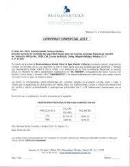 CONVENIO COMERCIAL 2013 - Issfam