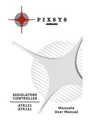 REGOLATORE CONTROLLER ATR121 ATR141 Manuale User ...