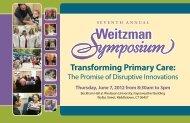 Transforming Primary Care: - Community Health Center
