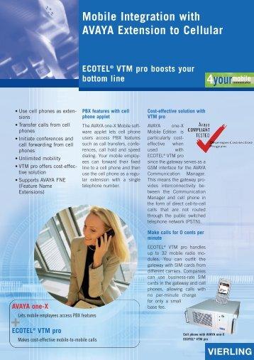ECOTEL® VTM pro