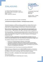 EINLADUNG iLeadership Nov10 - MR Marketing & mehr