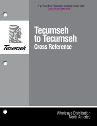 tecumseh_to_tecumseh.. - HVAC and Refrigeration Information Links