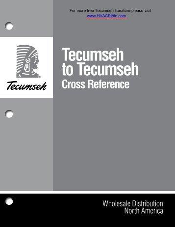 tecumseh_to_tecumseh.. - HVAC and Refrigeration Information Links