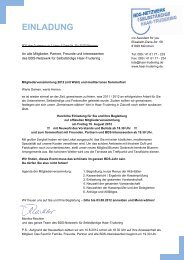 EINLADUNG - MR Marketing & PR