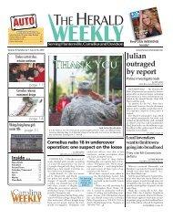 Thank You - Carolina Weekly Newspapers