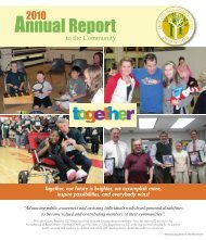 Annual Report - Lake County Board of Mental Retardation and ...