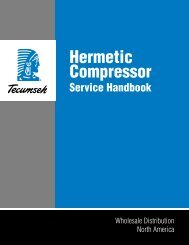 Hermetic Compressor - Tecumseh