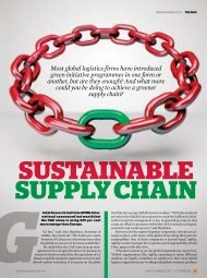 Sustainable Supply Chain - Agility
