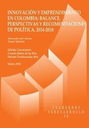 CUARDENOS-DE-FEDESARROLLO-No.-50-INNOVACIÓN-Y-EMPRENDIMIENTO-EN-COLOMBIA-debate_pres_2014_cuad50