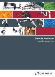 Guía de Productos Medida Americana - Cepex