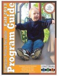 Program Guide - Streetsboro