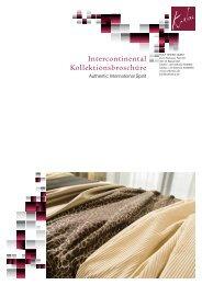 Produktblatt Intercontinental - Rolf Krebs GmbH