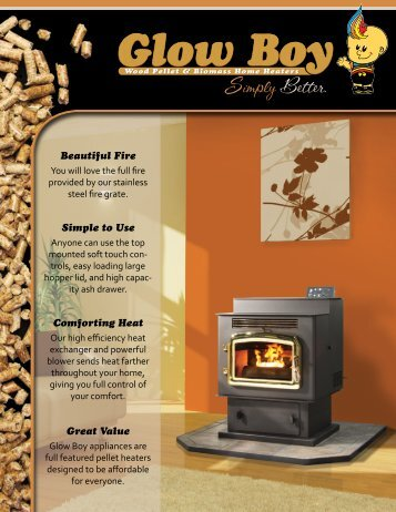 Beautiful Fire Simple to Use Comforting Heat - Dansons Group Inc.