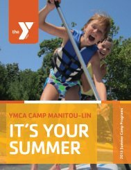 2013 Camp Brochure - YMCA of Greater Grand Rapids