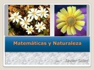 Matemáticas y Naturaleza