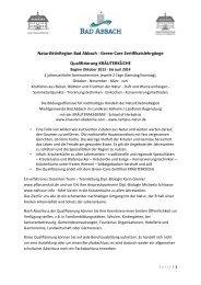 Kräuterküche Bad Abbach Oktober 2013 - Gundermannschule
