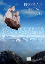 REGIONALE SINGTAGE 2013