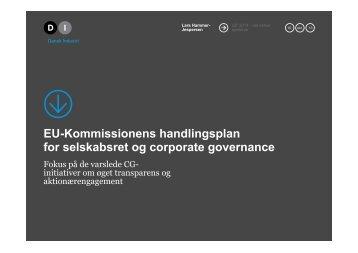 EU-Kommissionens handlingsplan for selskabsret ... - Computershare