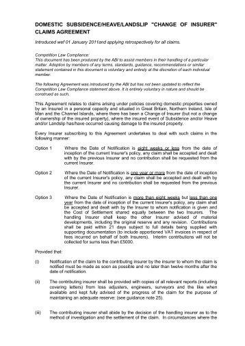 Personal effects insurance contribution agreement cilathe download copy of the agreement cilathe chartered institute of platinumwayz