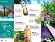 Broxbourne NNR walkers Guide Web