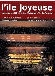 Téléchargez ici l'édition n° 9 (854 Ko) - Orchestre national d'Ile-de ...