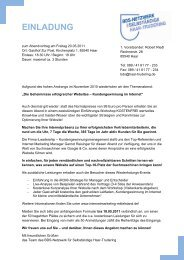 EINLADUNG iLeadership Mai11 - MR Marketing & mehr