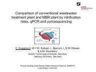 Comparison of conventional wastewater treatment plant and MBR ...
