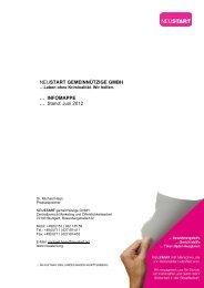 NEUSTART Pressemappe (Stand: 30. Juni 2012)