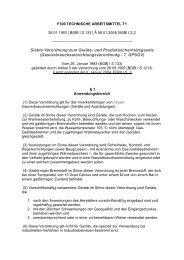 Gasverbrauchseinrichtungsverordnung - 7. GPSGV - ZLS