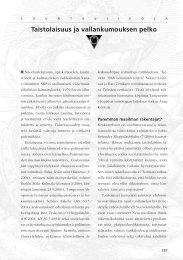 Pääkirjoitus 2/2004 Taistolaisuus ja vallankumouksen pelko