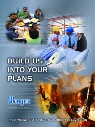 New Construction Brochure - Wenger Corporation